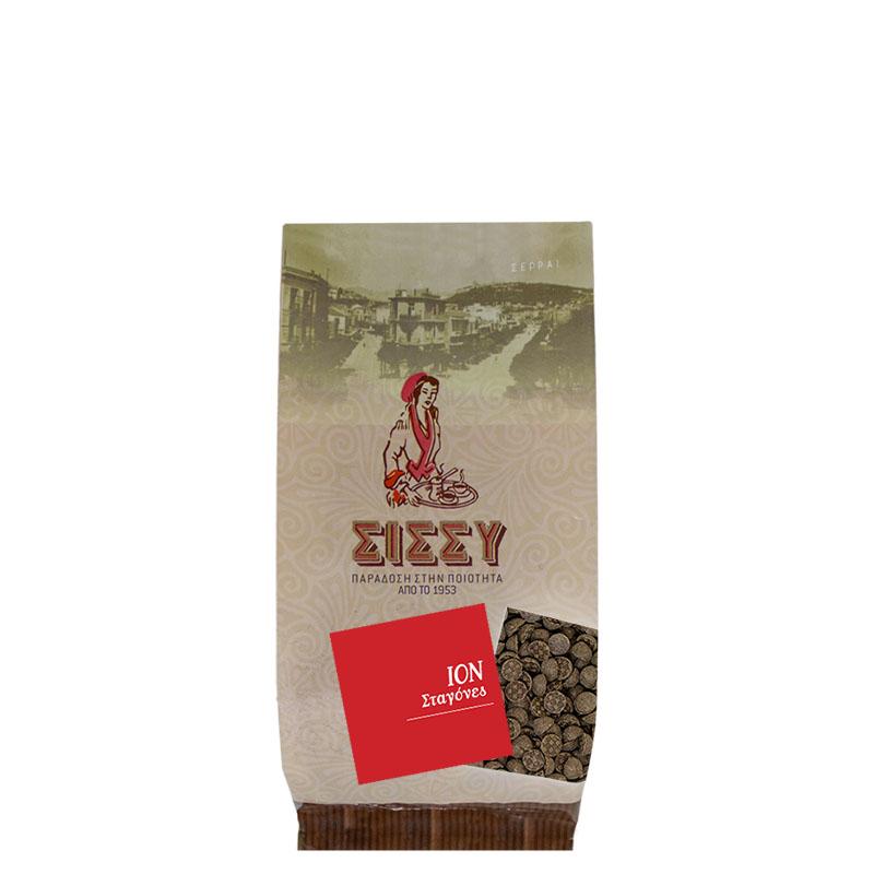 ΙΟΝ  Σταγόνες Σοκολάτας 58% Κακάο 250 gr συσκευασία