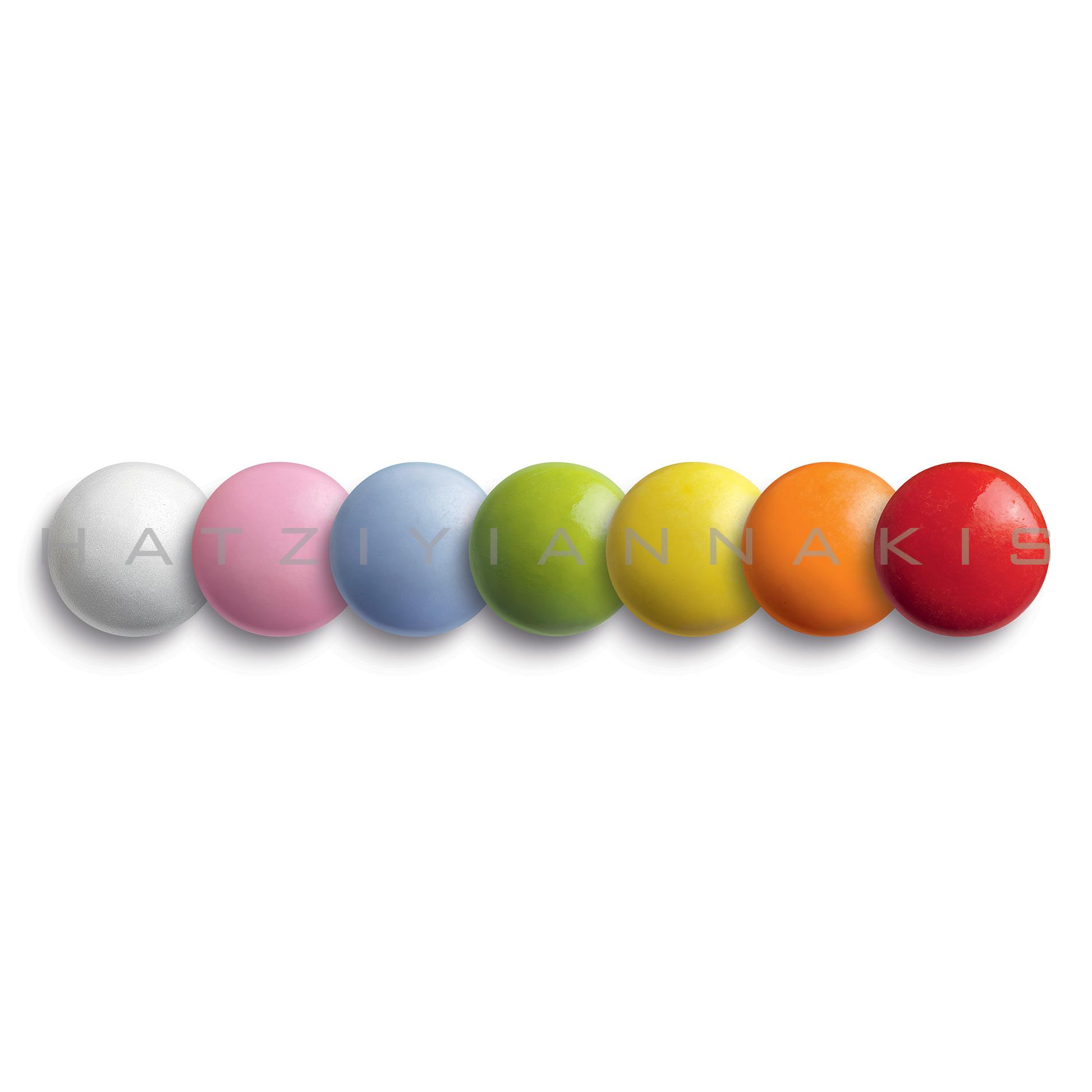 Koυφέτο rondo bebe πολύχρωμο (smarties) 500 gr Συσκευασία