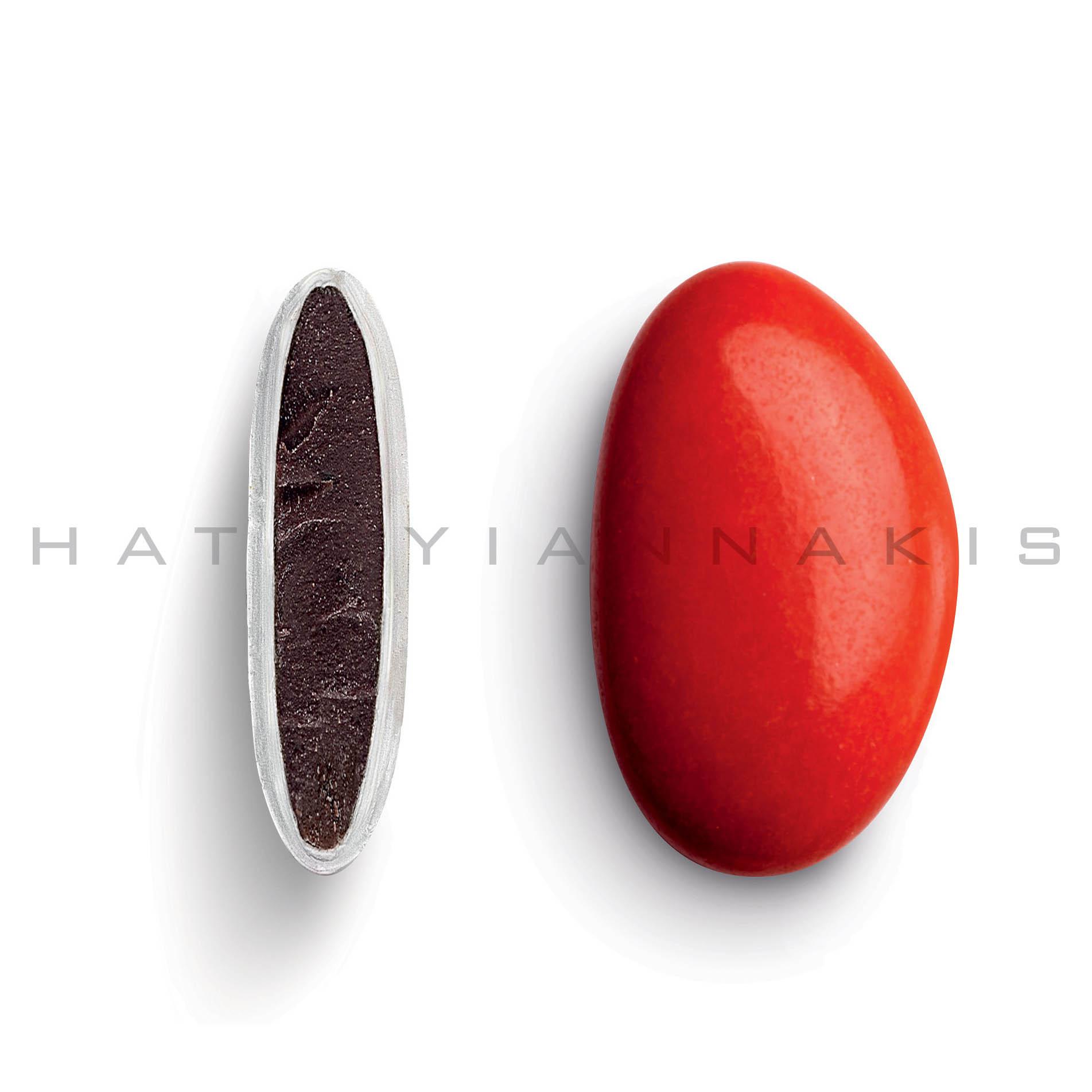 Κουφέτo bijoux supreme κόκκινο, γυαλισμένο 500 gr Συσκευασία
