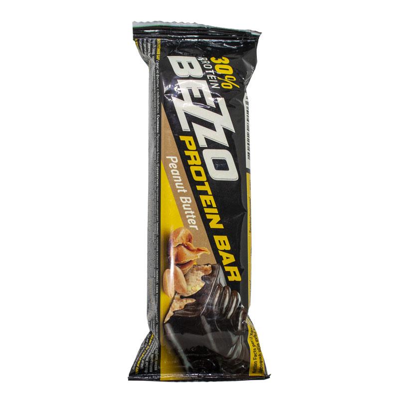 Μπάρα Πρωτεΐνης 30 % με γεύση Φυστικιού Peanut, Βουτύρου 80 γρμ. Συσκευασία