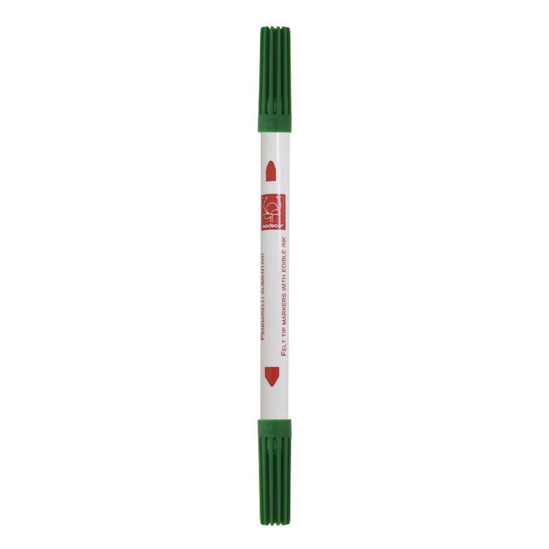 Βρώσιμος Μαρκαδόρος Ψιλής Πένας Πράσινος τεμάχιο