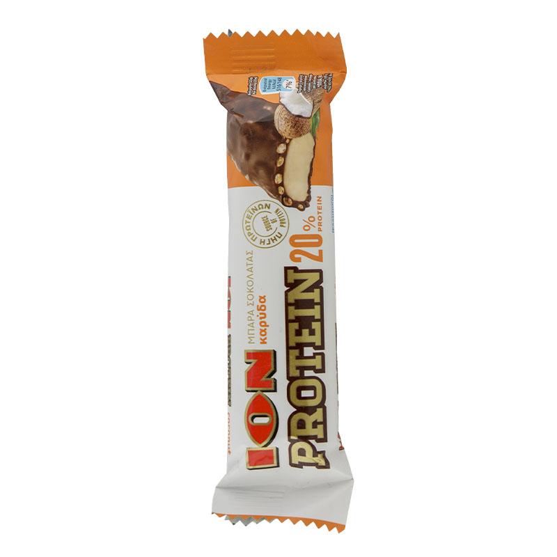 ΙΟΝ Μπάρα Πρωτεΐνης 20 % Σοκολάτας Γάλακτος – Καρύδα 50 gr Συσκευασία