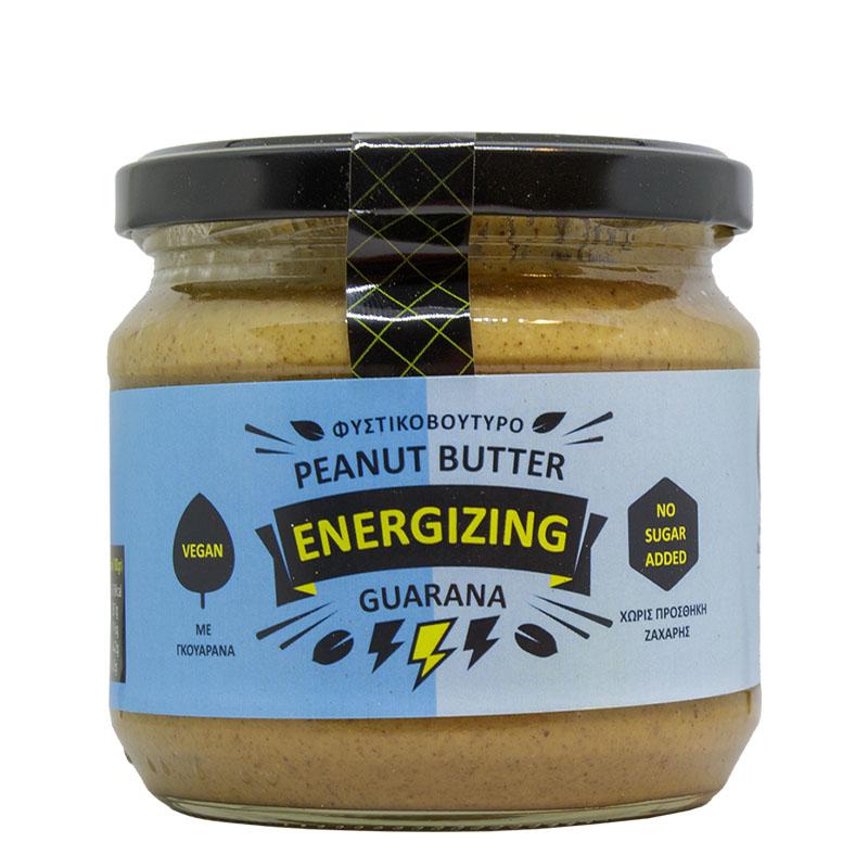Φυστικοβούτυρο Guarana – Peanut butter 350 gr Συσκευασία