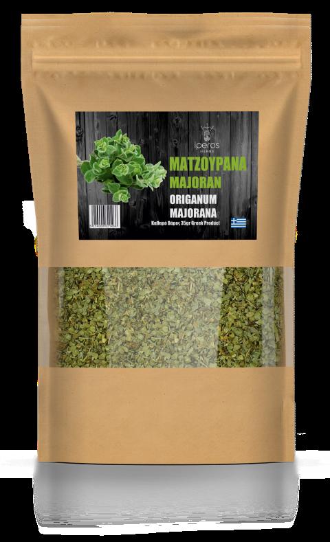 Βιολογικό Βότανο Μαντζουράνα  35 gr. Συσκευασία
