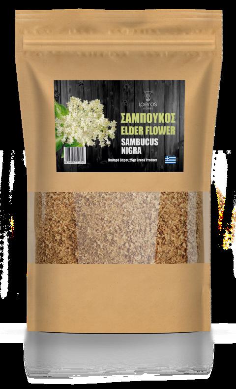 Βιολογικό Βότανο Σαμπούκος 25 gr. Συσκευασία
