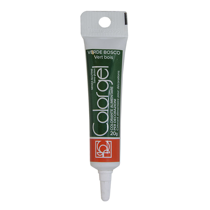 Forest Green Color Gel 20 gr Συσκευασία