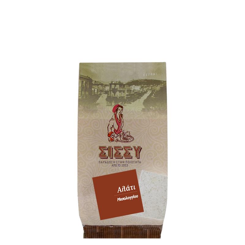 Αλάτι Νίκη Θαλασσινό Μεσολογγίου Ψιλό 400 gr Συσκευασία