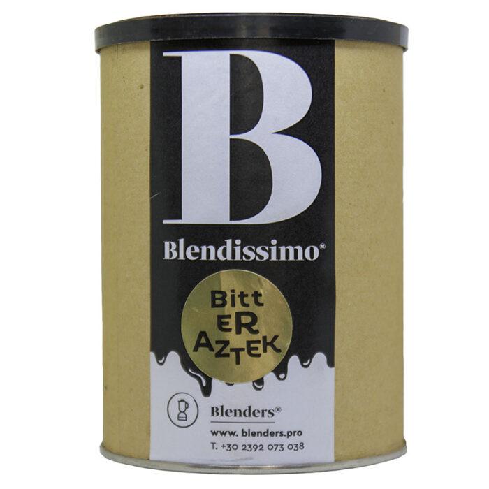 Σοκολάτα ρόφημα με γεύση Blendissimo Bitter Azteκ (sugar free) 250 gr Συσκευασία