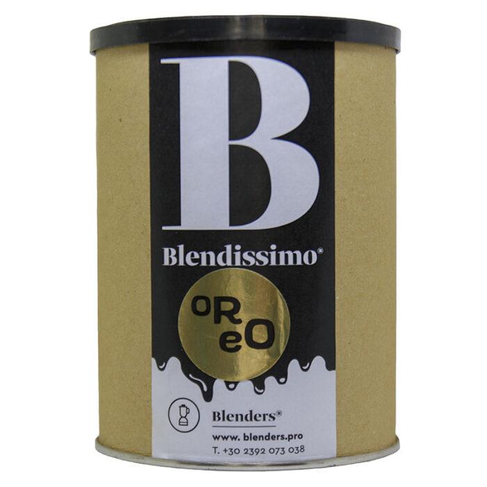 Σοκολάτα λευκή ρόφημα με γεύση Blendissimo Oreo 250 gr Συσκευασία