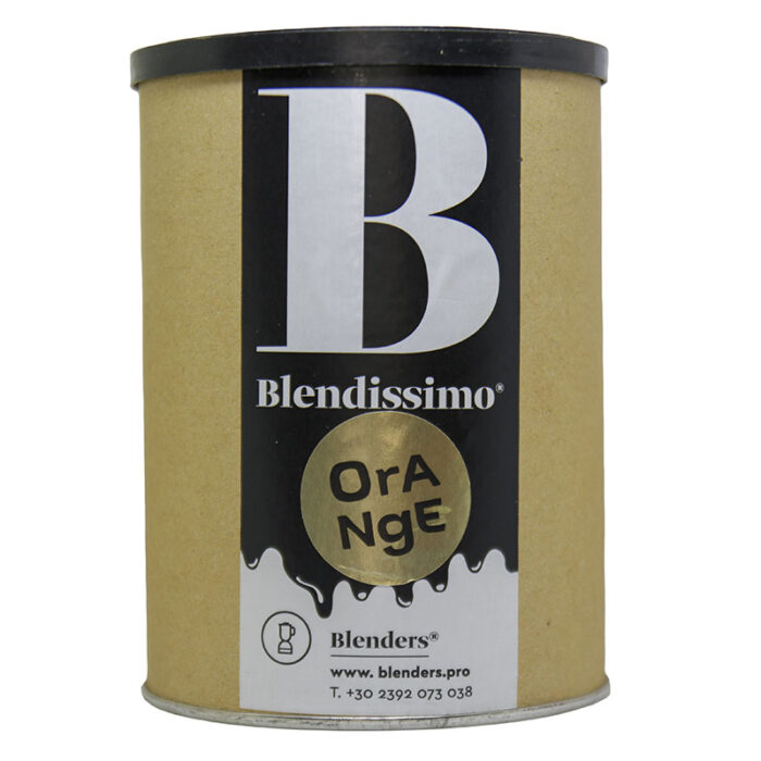 Σοκολάτα ρόφημα με γεύση Blendissimo Orange 250 gr Συσκευασία