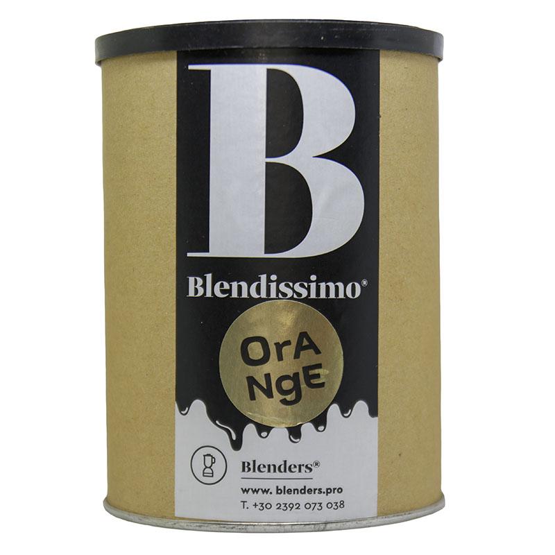 Σοκολάτα ρόφημα με γεύση Blendissimo Orange 500 gr Συσκευασία